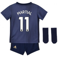 2018-2019 Man Utd Adidas Third Baby Kit (Martial 11)