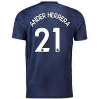 2018-2019 Man Utd Adidas Third Football Shirt (Ander Herrera 21)