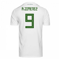 2018-2019 Mexico Away Adidas Football Shirt (R Jimenez 9)