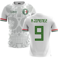 2018-2019 Mexico Away Concept Football Shirt (R Jimenez 9)