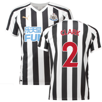 2018-2019 Newcastle Home Football Shirt (Clark 2)