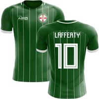 2018-2019 Northern Ireland Home Concept Football Shirt (Lafferty 10) - Kids
