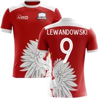 2018-2019 Poland Away Concept Football Shirt (Lewandowski 9)