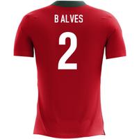2018-2019 Portugal Airo Concept Home Shirt (B Alves 2)