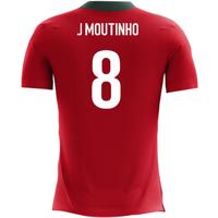 2018-2019 Portugal Airo Concept Home Shirt (J Moutinho 8)