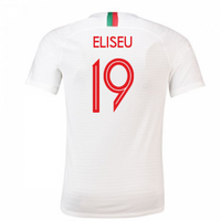 2018-2019 Portugal Away Nike Football Shirt (Eliseu 19)