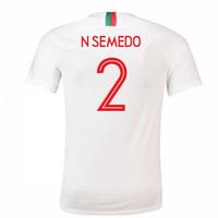2018-2019 Portugal Away Nike Football Shirt (N Semedo 2) - Kids