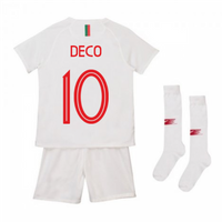 2018-2019 Portugal Away Nike Mini Kit (Deco 10)