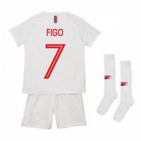2018-2019 Portugal Away Nike Mini Kit (Figo 7)