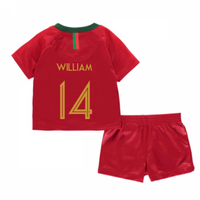 2018-2019 Portugal Home Nike Baby Kit (William 14)
