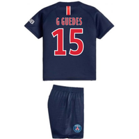 2018-2019 PSG Home Nike Baby Kit (G Guedes 15)