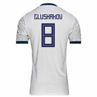 2018-2019 Russia Away Adidas Football Shirt (Glushakov 8) - Kids