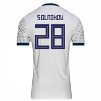 2018-2019 Russia Away Adidas Football Shirt (Smolnikov 28) - Kids