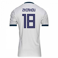 2018-2019 Russia Away Adidas Football Shirt (Zhirkov 18)