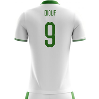 2018-2019 Senegal Home Concept Football Shirt (Diouf 9)