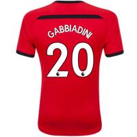 2018-2019 Southampton Home Football Shirt (Gabbiadini 20)