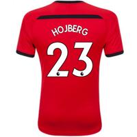 2018-2019 Southampton Home Football Shirt (Hojberg 23)