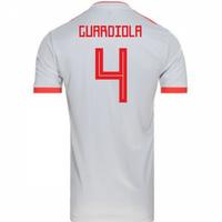 2018-2019 Spain Away Adidas Football Shirt (Guardiola 4) - Kids