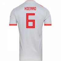 2018-2019 Spain Away Adidas Football Shirt (Hierro 6) - Kids