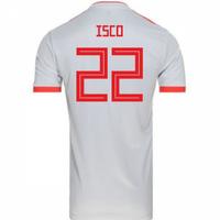 2018-2019 Spain Away Adidas Football Shirt (Isco 22) - Kids