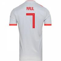 2018-2019 Spain Away Adidas Football Shirt (Raul 7) - Kids