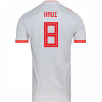 2018-2019 Spain Away Adidas Football Shirt (Xavi 8) - Kids
