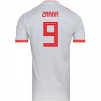 2018-2019 Spain Away Adidas Football Shirt (Zarra 9) - Kids