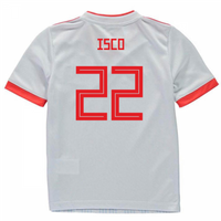 2018-2019 Spain Away Adidas Mini Kit (Isco 22)