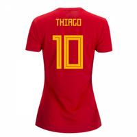 2018-2019 Spain Home Adidas Womens Shirt (Thiago 10)