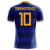 2018-2019 Sweden Airo Concept Away Shirt (Ibrahimovic 10) - Kids