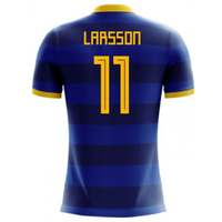 2018-2019 Sweden Airo Concept Away Shirt (Larsson 11)