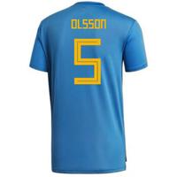 2018-2019 Sweden Training Jersey (Trace Royal) (Olsson 5)
