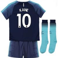 2018-2019 Tottenham Away Nike Little Boys Mini Kit (Kane 10)