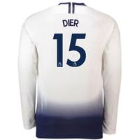 2018-2019 Tottenham Home Long Sleeve Nike Shirt (Dier 15)