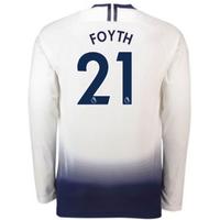 2018-2019 Tottenham Home Long Sleeve Nike Shirt (Foyth 21)