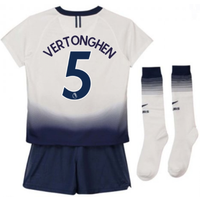 2018-2019 Tottenham Home Nike Little Boys Mini Kit (Vertonghen 5)