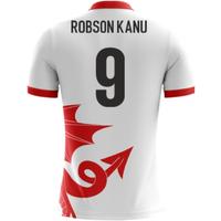 2018-2019 Wales Airo Concept Away Shirt (Robson Kanu 9)