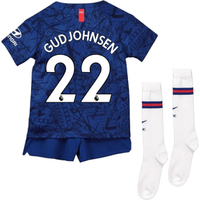 2019-20 Chelsea Home Mini Kit (Gudjohnsen 22)