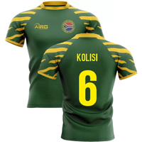 2020-2021 South Africa Springboks Home Concept Rugby Shirt (Kolisi 6)