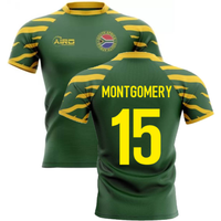 2020-2021 South Africa Springboks Home Concept Rugby Shirt (Montgomery 15)