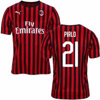 2019-2020 AC Milan Puma Home Football Shirt (PIRLO 21)