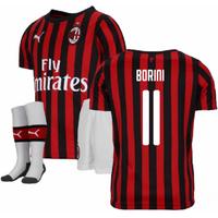 2019-2020 AC Milan Puma Home Mini Kit (BORINI 11)