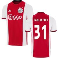 2019-2020 Ajax Adidas Home Football Shirt (TAGLIAFICO 31)