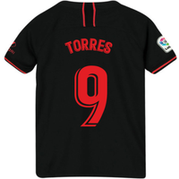 2019-2020 Atletico Madrid Away Nike Little Boys Mini Kit (TORRES 9)