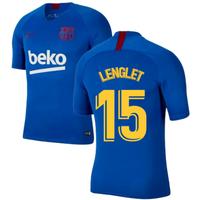 2019-2020 Barcelona Nike Training Shirt (Blue) - Kids (LENGLET 15)