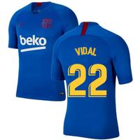 2019-2020 Barcelona Nike Training Shirt (Blue) - Kids (VIDAL 22)