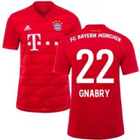 2019-2020 Bayern Munich Adidas Home Football Shirt (GNABRY 22)