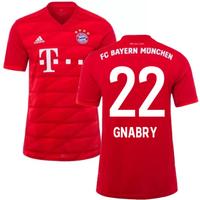 2019-2020 Bayern Munich Adidas Home Shirt (Kids) (GNABRY 22)