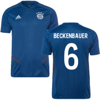2019-2020 Bayern Munich Adidas Training Shirt (Night Marine) (BECKENBAUER 6)