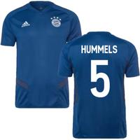 2019-2020 Bayern Munich Adidas Training Shirt (Night Marine) (HUMMELS 5)